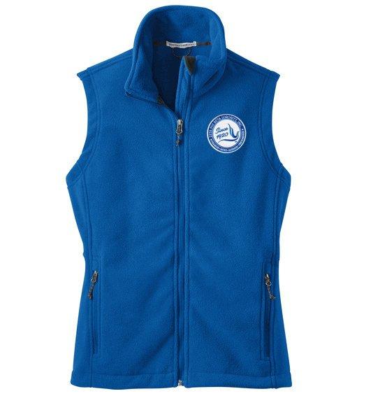 DISCOUNT-Zeta Phi Beta Since 1920 Patch Ladies Fleece Vest