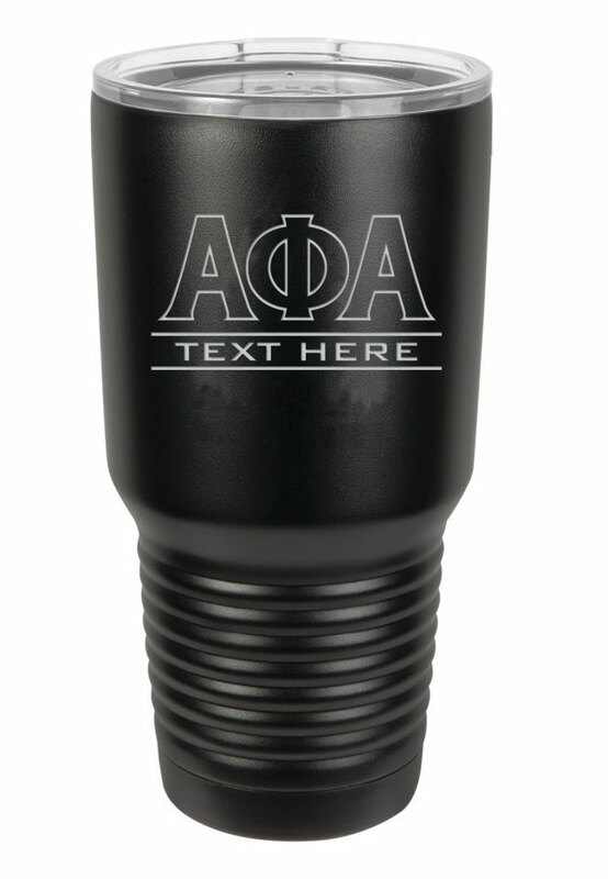 Alpha Phi Alpha Vacuum Insulated Tumbler