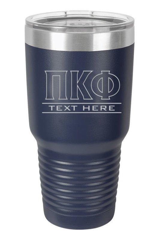 Pi Kappa Phi Vacuum Insulated Tumbler