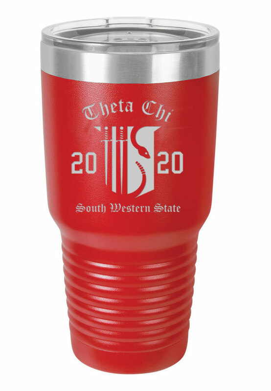 Theta Chi Insulated Tumbler