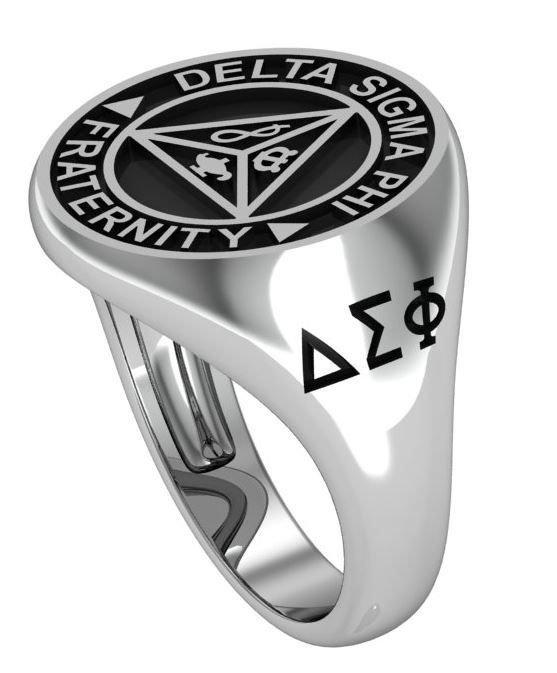 Delta Sigma Phi Crest Ring