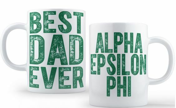 Alpha Epsilon Phi Best Dad Ever Coffee Mug
