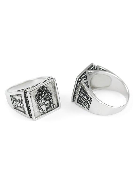 Alpha Phi Alpha Big Sterling Silver Ring