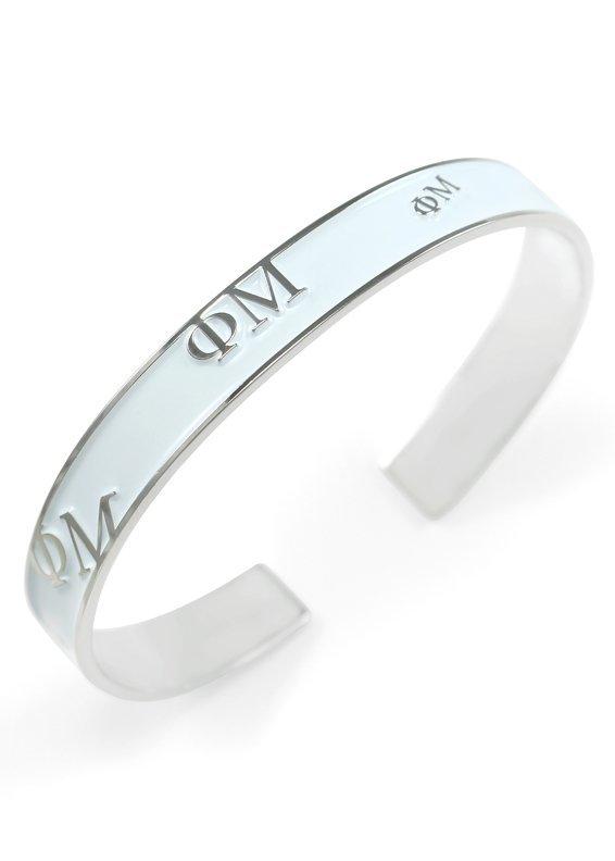 Phi Mu Bangle Bracelet