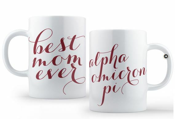 Alpha Omicron Pi Best Mom Ever Coffee Mug