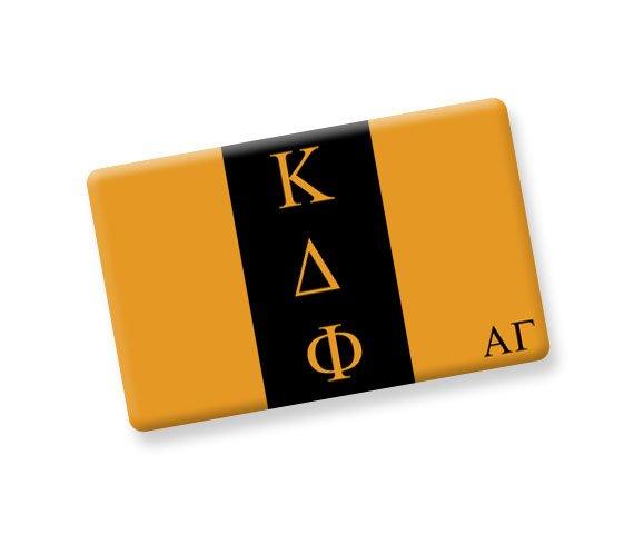 Kappa Delta Phi Ceramic Flag Magnet