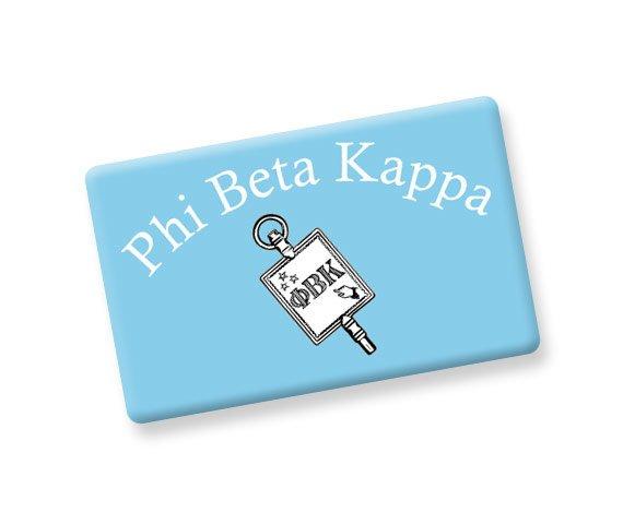 Phi Beta Kappa Ceramic Flag Magnet