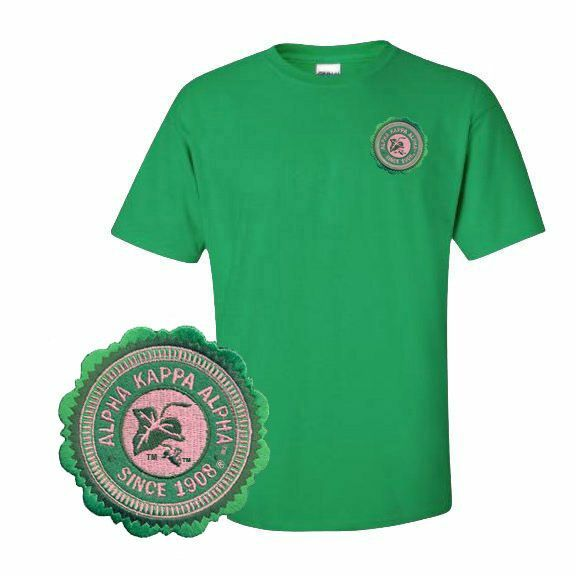 DISCOUNT-Alpha Kappa Alpha Crest - Shield Patch Seal T-Shirt