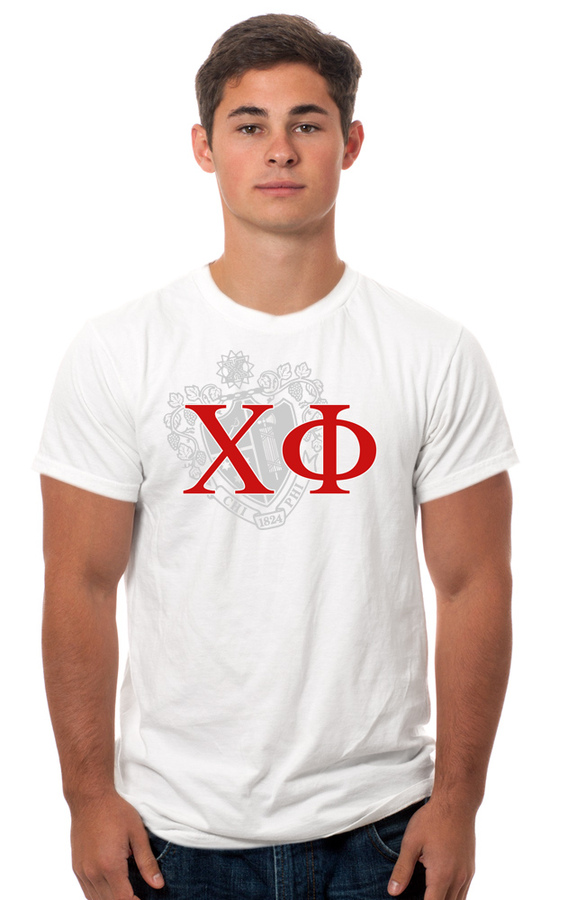 Chi Phi Crest - Shield Tee