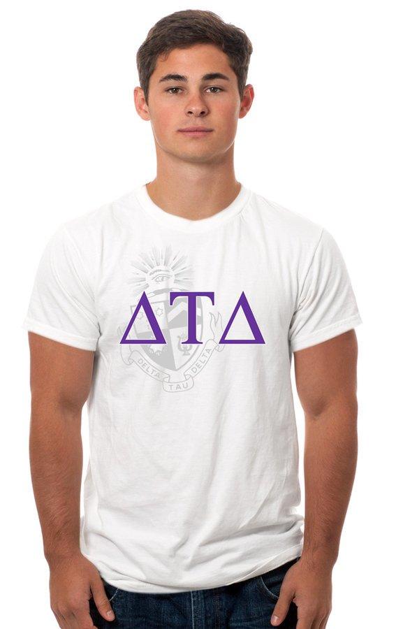 Delta Tau Delta Crest - Shield Tee
