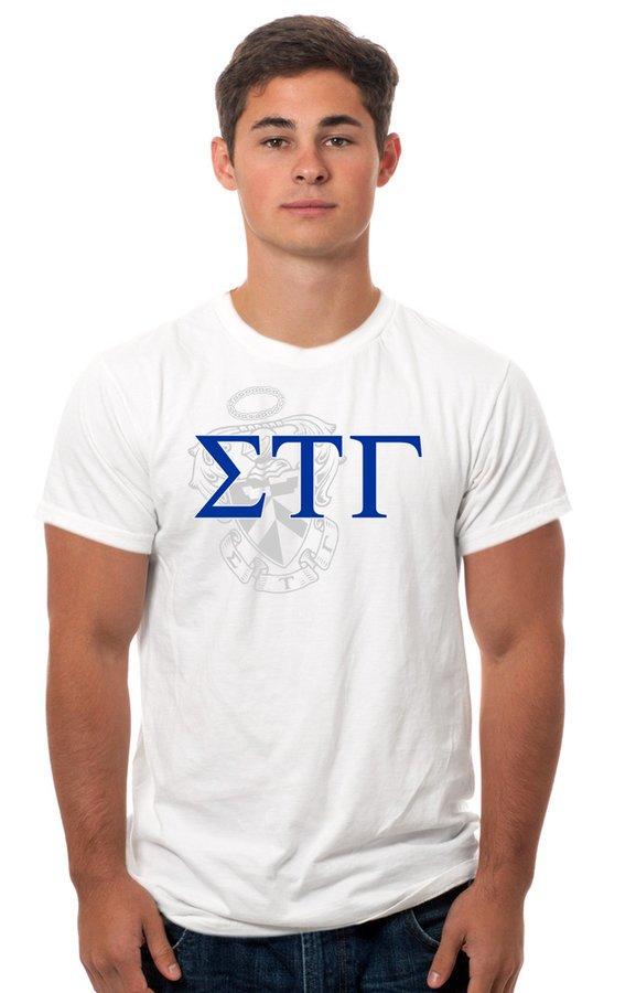 Sigma Tau Gamma Crest - Shield Tee
