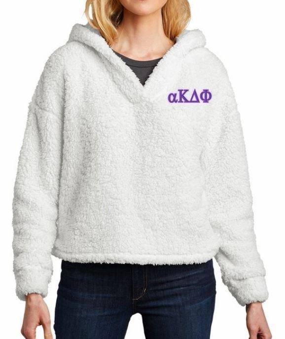 alpha Kappa Delta Phi Cozy Fleece Hoodie
