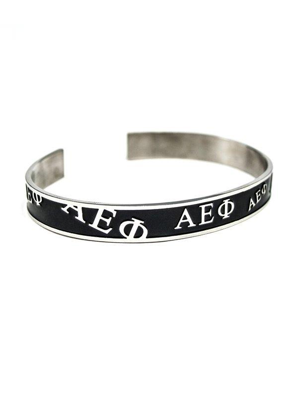 Alpha Epsilon Phi Bangle Bracelet