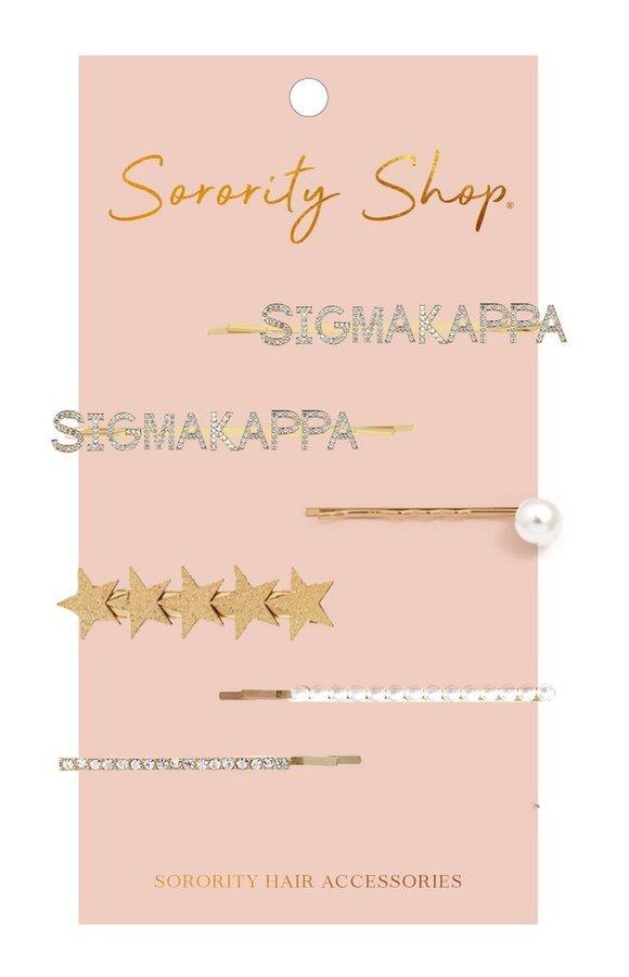 Sigma Kappa Hair Clips