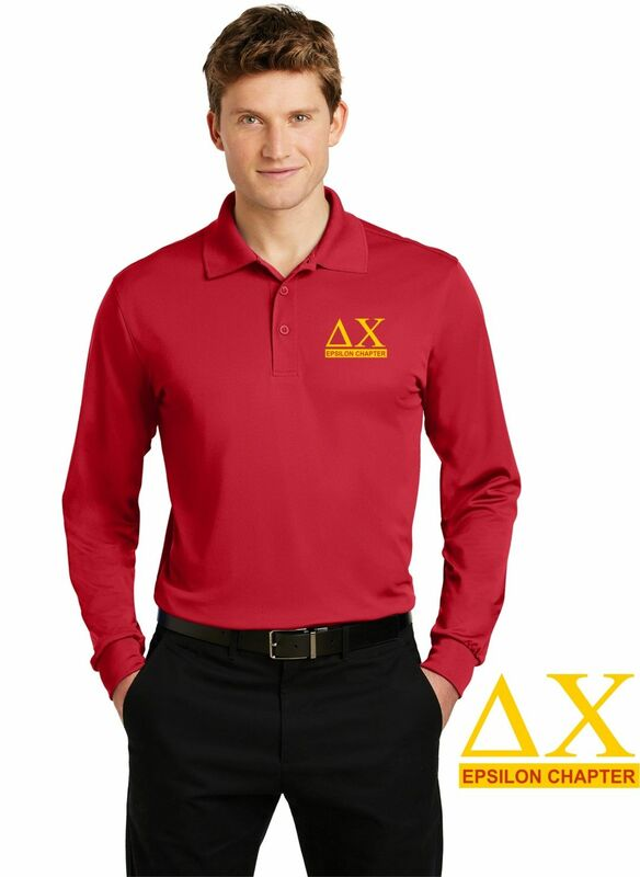 $30 World Famous Long Sleeve Dry Fit Polo