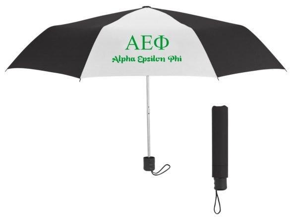 Alpha Epsilon Phi Budget Telescopic Umbrella