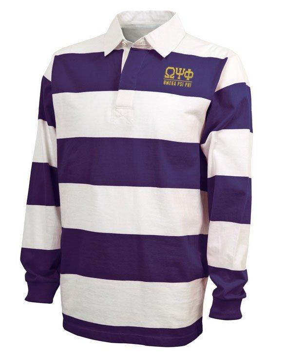 Omega Psi Phi Lettered Rugby