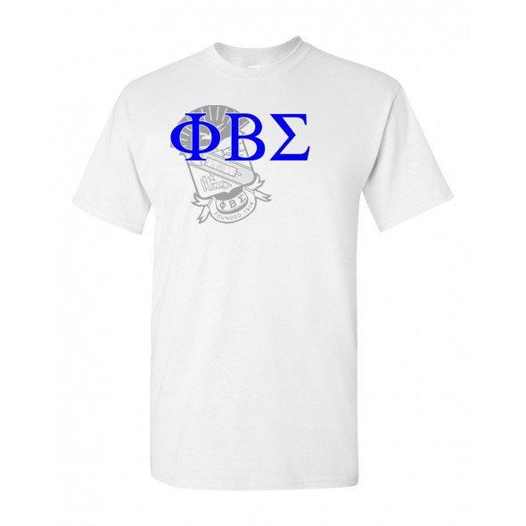 Phi Beta Sigma Greek Crest - Shield T-Shirt