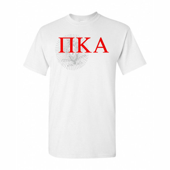 Pi Kappa Alpha Greek Crest - Shield T-Shirt
