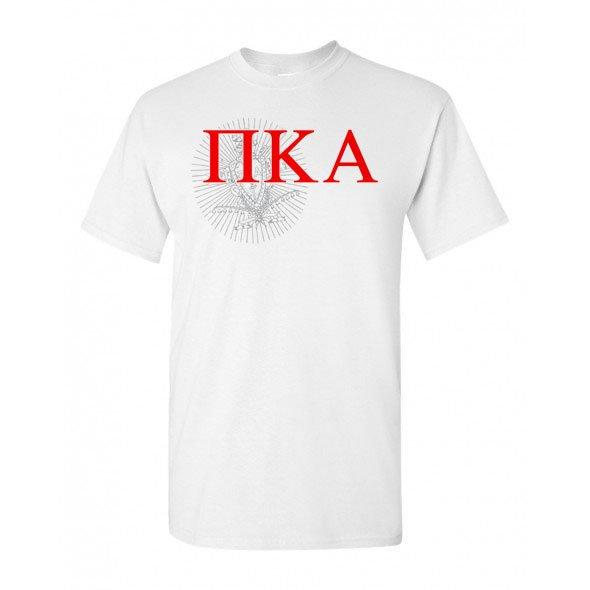 Pi Kappa Alpha Greek Crest - Shield T-Shirt
