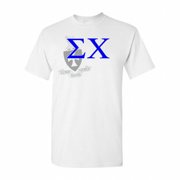 Sigma Chi Greek Crest - Shield T-Shirt