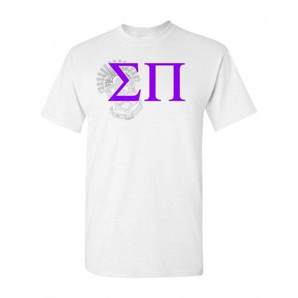 Sigma Pi Greek Crest - Shield T-Shirt