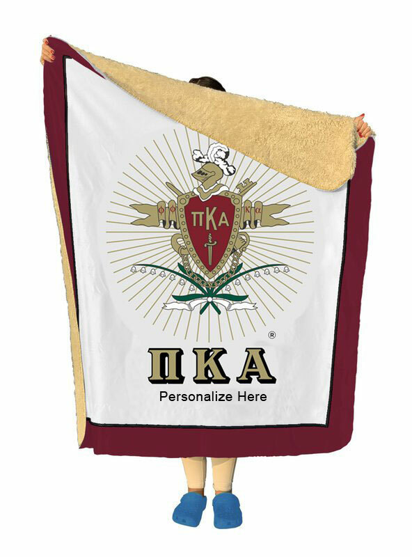 Pi Kappa Alpha Sherpa Lap Blanket