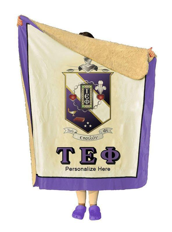 Tau Epsilon Phi Sherpa Lap Blanket