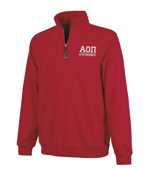 Alpha Omicron Pi Custom Fashion Pullover