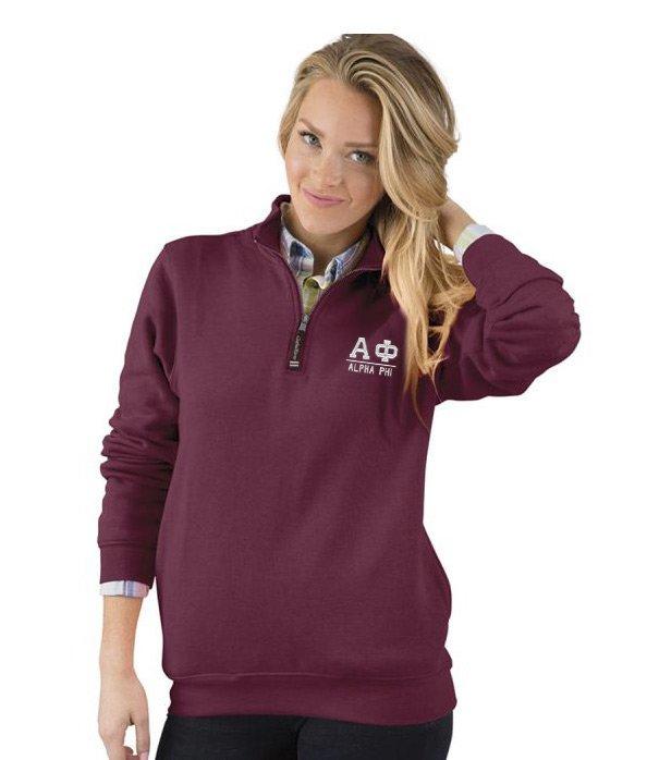 Alpha Phi Custom Fashion Pullover