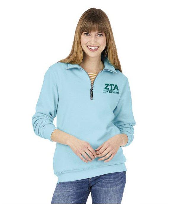 Zeta Tau Alpha Custom Fashion Pullover