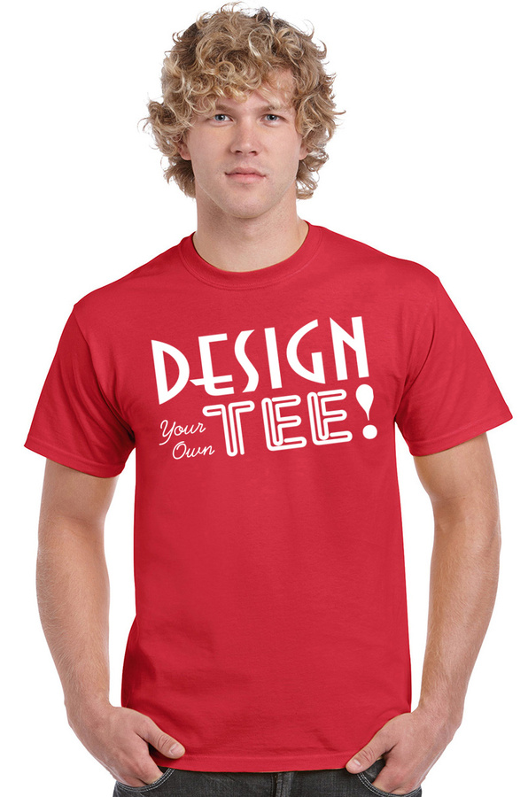 Design Your Own Short Sleeve T-Shirt