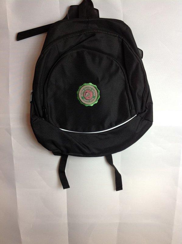 Super Savings - Alpha Kappa Alpha Seal Backpack - Black