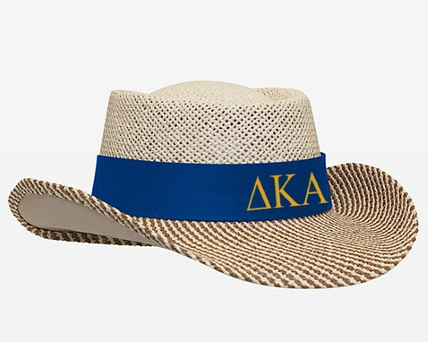 Delta Kappa Alpha Straw Hat