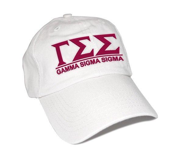 Gamma Sigma Sigma Famous Line Hat