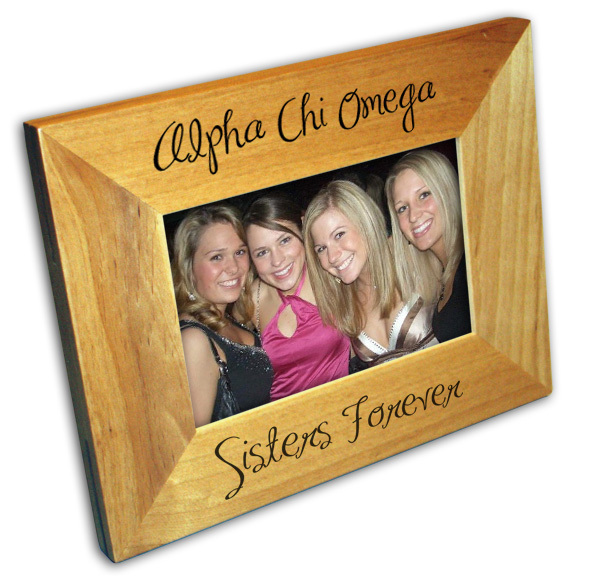 Alpha Chi Omega Picture Frames