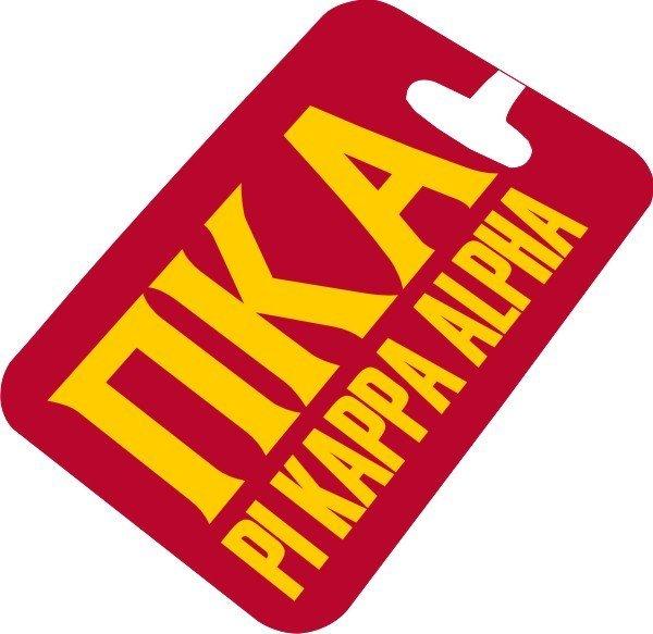Pi Kappa Alpha Luggage Tag