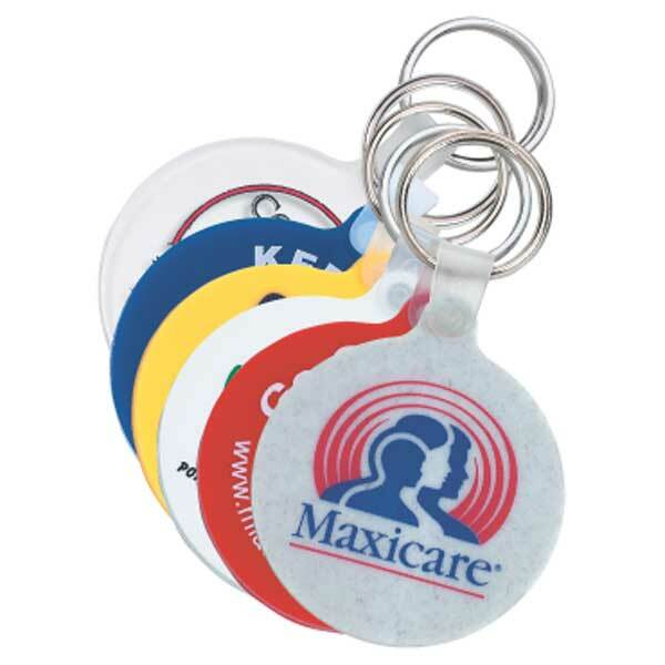 Custom Printed Round Key Tags