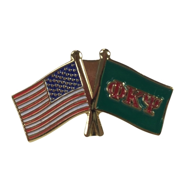 Phi Kappa Psi USA Flag Lapel Pin