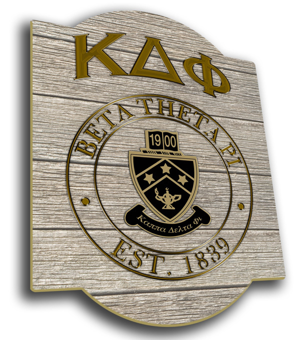 Kappa Delta Phi Traditional Sign