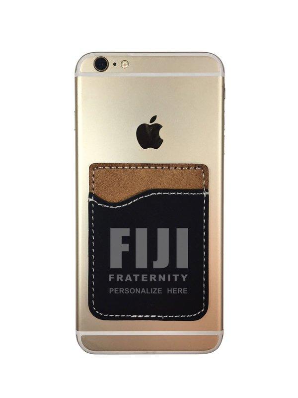 FIJI Fraternity Leatherette Phone Wallet