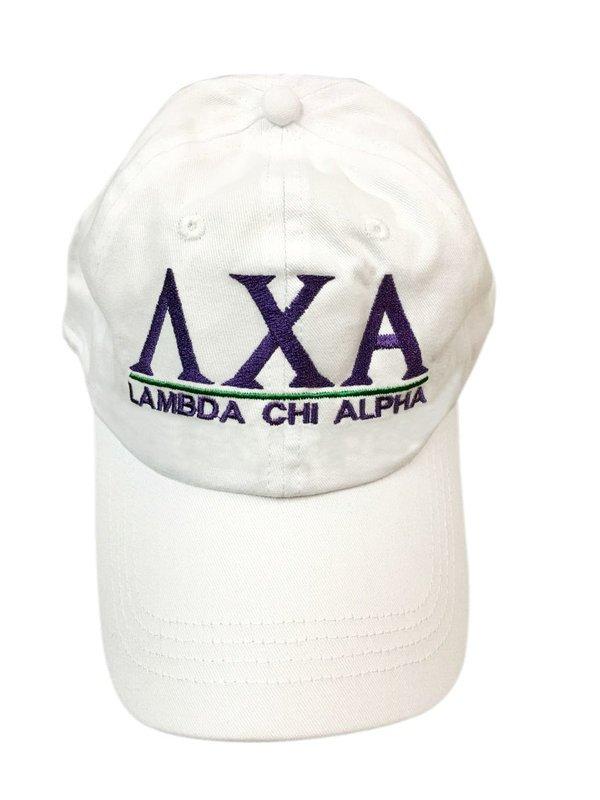 Lambda Chi Alpha World Famous Line Hat