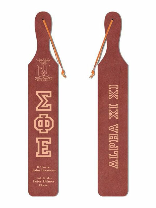 Old School Wood Greek Paddle