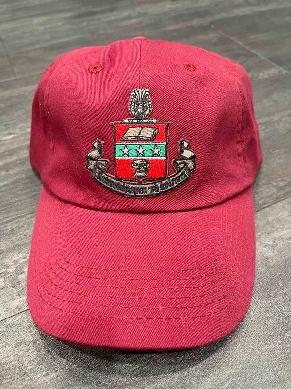 The New Super Savings - Alpha Chi Omega Emblem Hat - RED