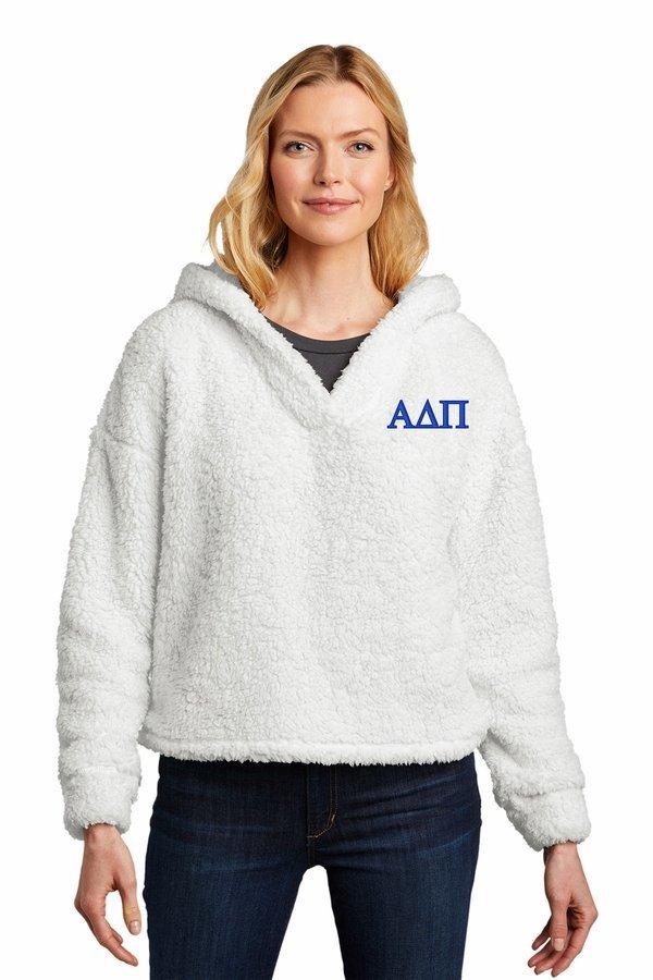 Alpha Delta Pi Cozy Fleece Hoodie