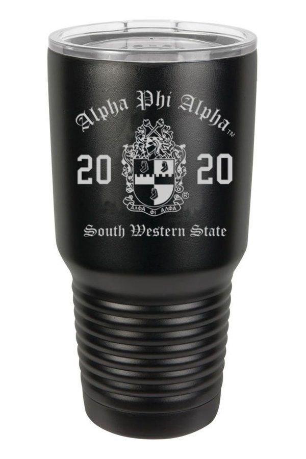 Alpha Phi Alpha Insulated Tumbler