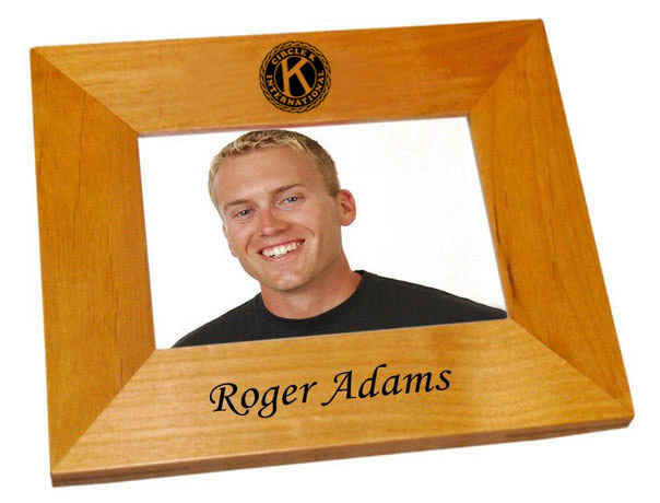 Circle K Wood Picture Frame