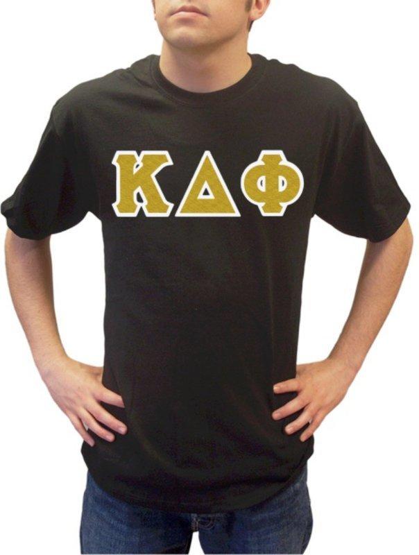 Kappa Delta Phi Sewn Lettered T-Shirt