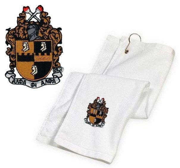 DISCOUNT-Alpha Phi Alpha Golf Towel