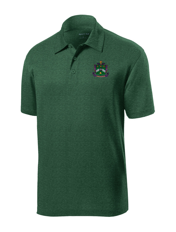 DISCOUNT-Delta Sigma Phi- World Famous Greek Crest - Shield Contender Polo